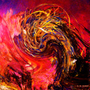 Extinct And Mythical Digital Art Originals - Phoenix Rising 2048 by Michael Durst