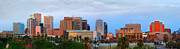 Phoenix Architecture Framed Prints - Phoenix Skyline at Dusk Framed Print by Jon Holiday