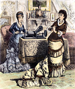 1880s Prints - PHONOGRAPH, c1880 Print by Granger