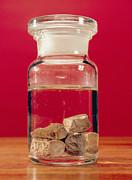 Phosphorus In A Jar Print by Andrew Lambert Photography