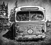 Bus Framed Prints - Photo Bus  Framed Print by Jerry Cordeiro