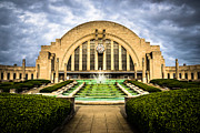 Terminal Metal Prints - Photo of Cincinnati Museum Center  Metal Print by Paul Velgos