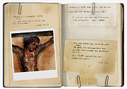Bible Verse Photos - Photo of Crucifix with Bible Verses. by Jill Battaglia