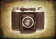 Leather Prints - Photographers Nostalgia Print by Meirion Matthias
