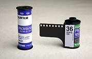 Film Camera Prints - Photographic Colour Slide Film Print by Victor De Schwanberg