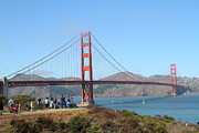 Photographing The San Francisco Golden Gate Bridge . 7d7787 Print by Wingsdomain Art and Photography
