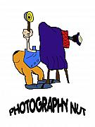 Apparel Posters - Photography Nut Poster by John Radosevich