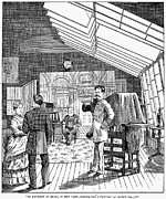 Photography Studio, 1876 Print by Granger