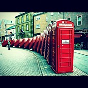 Featured Prints - #photooftheday #london #british Print by Ozan Goren