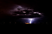 Phx Night Lightning 7 Print by Kenny Jalet