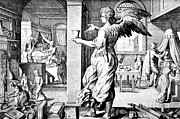 Bandages Posters - Physician As Angel, 17th Century Poster by Science Source