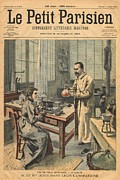 Scientists Framed Prints - Physicists Pierre And Marie Framed Print by Everett