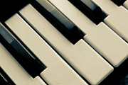 Dresden Photos - Piano Keys by Dm909