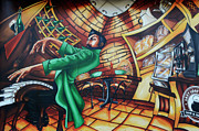 Mural Photos - Piano Man 2 by Bob Christopher