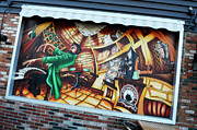 Mural Photos - Piano Man 3 by Bob Christopher