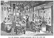 1878 Photos - Piano Manufacturing, 1878 by Granger
