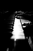 Piano Keys Prints - Piano Player Print by Scott Sawyer