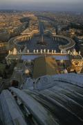 Piazza San Pietro As Seen From The Dome Print by James L. Stanfield
