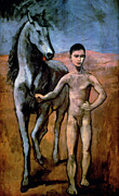 Leading Art - Picasso - Boy 1906 by Granger