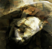 Monochrome Digital Art - Picasso by Byron Fli Walker