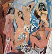 Picasso Demoiselles 1907 Print by Granger
