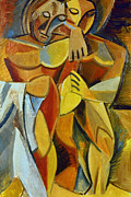 Cubist Art - Picasso: Friendship, 1907 by Granger
