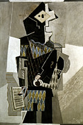 Fool Photos - Picasso: Harlequin, 1918 by Granger