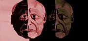 Glass Wall Digital Art - Picasso Legend by Mark Moore