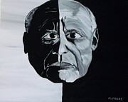 Dead People Paintings - Picasso by Mark Moore