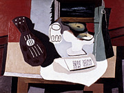 Pablo Framed Prints - Picasso: Still Life Framed Print by Granger