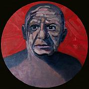 Pablo Picasso Prints - Picasso The Artist Icon Print by Ralph Papa
