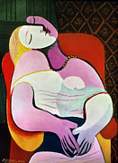 Dream Photos - Picasso: The Dream, 1932 by Granger