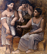 Pablo Prints - Picasso: Three Women, 1921 Print by Granger