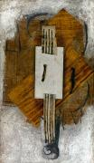 Cubist Framed Prints - Picasso: Violin, 1913-14 Framed Print by Granger