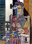 Pablo Prints - Picasso: Woman, 1937 Print by Granger