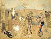 Entertainer Art - Picasso:circus Family,1905 by Granger