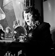 Fortune Telling Prints - Piccadilly Palmist Print by Bert Hardy