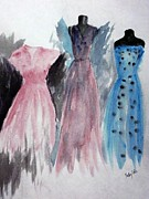 Summer Dresses Paintings - Pick One by Trilby Cole