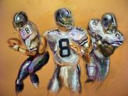 Football Mixed Media - Pick your Poison...The Glory Days by Tommy  Winn