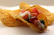 Tortillas Photos - Pico de gallo by Sarah Broadmeadow-Thomas