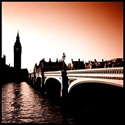 Picoftheday Posters - #picoftheday #igersturkey #london #uk Poster by Ozan Goren