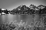 Picture Lake Posters - Picture Lake - Mount Baker Wilderness Poster by Dan Mihai