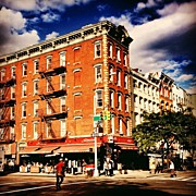 Landscapes Posters - Picture Perfect - East Village - New York City Poster by Vivienne Gucwa