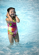Little Girl Photos - Pictures of the Summer by Gwyn Newcombe