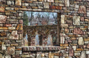 Bricks Framed Prints - Pictures Within Framed Print by Chuck Alaimo