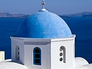 Orthodox Photo Originals - Picturesque Santorini by Sophie Vigneault