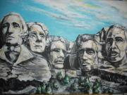 Obama Paintings - Piece of the Rock by Donald Dunham