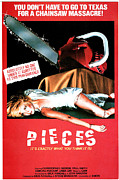 Pieces Framed Prints - Pieces, Aka Mil Gritos Tiene La Noche Framed Print by Everett