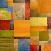 Textural Prints - Pieces Project ll Print by Michelle Calkins