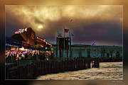Pier 39 Digital Art - Pier 39 in San Francisco  by Blake Richards